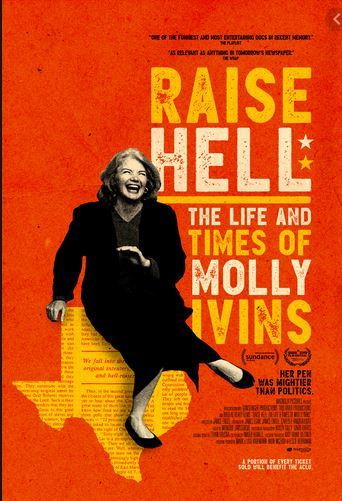 Raise Hell: The Life and Times of Molly Ivins border=